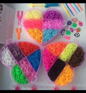 Rainbow Loom, резинки для плетения браслетов !