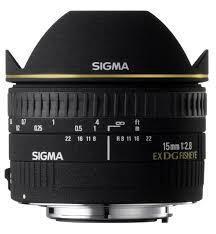 Sigma 15mm f2.8EX DG  Fisheye for Canon
