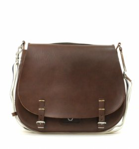 Новая кожаная сумка Fred Perry унисекс большая
