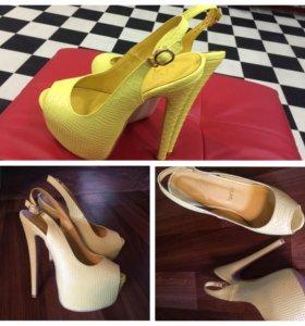 Жёлтые туфли