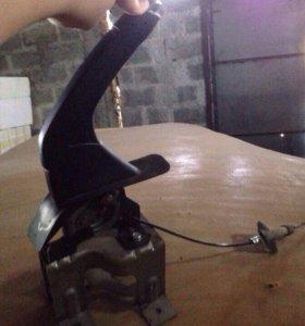 Ручной тормоз в сборе с тросомМКППssangyong action
