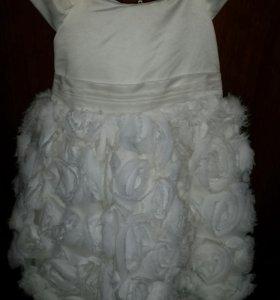 Платье 68-80 р. для маленькой принцессы