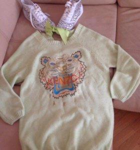 Туника свитер kenzo