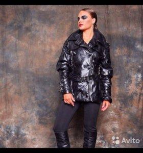 Кожаная куртка- автоледи