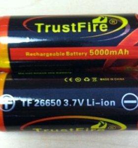 2 Аккумулятора TrustFire (новые)