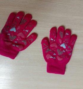 Зимние перчатки для малыша, детские.