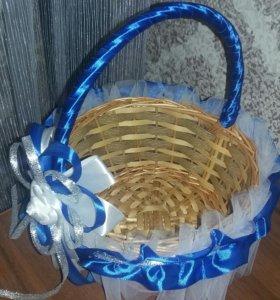 Корзинка для лепестков на свадьбу