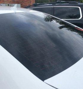 Тонирование стёкол авто