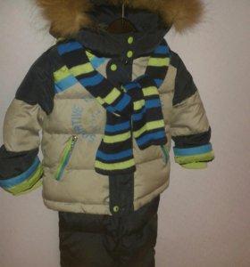 Зимний костюм на 1-2 года