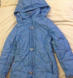Куртка осенняя утепленная размер 38