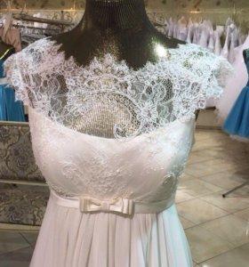 Свадебное платье р-р 46-48