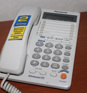 Panasonic KX-TS2368 (Белый) на 2 линии