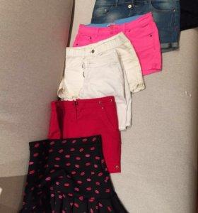 Шорты, бриджи и брюки