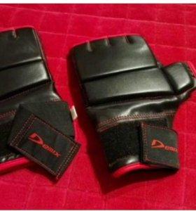 Щитки + перчатки