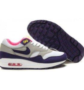 Кроссовки Nike Air Max 87 синие с серым 35-45
