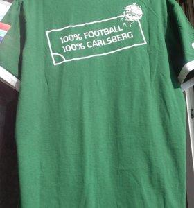 Футбольная футболка от Carlsberg