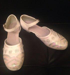 Туфли р 36 школьные