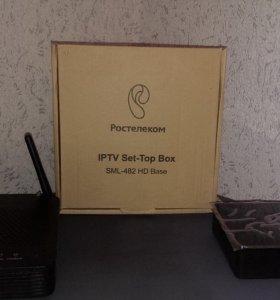 Приставка Ростелеком IPTV SML-482 HD Base
