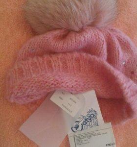 Брендовая шапка Catya