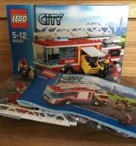 Конструктор LEGO City 60002 Пожарная машина