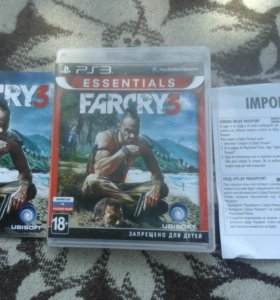 P.S.3 ДИСК FARCRY3