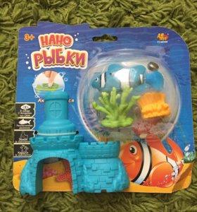 """Детская игрушка """"Нано рыбка"""""""