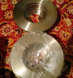 Тормозные диски на БМВ 525