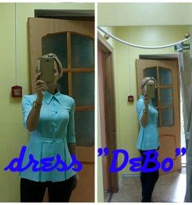 Блузка новая, ткань креп-шифон, 42 размера