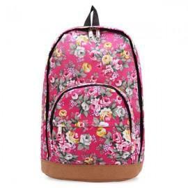 Рюкзак с цветами Розовый