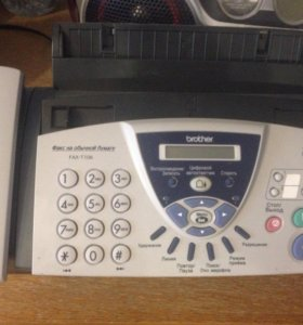 Brother FAX-T104 телефон-факс