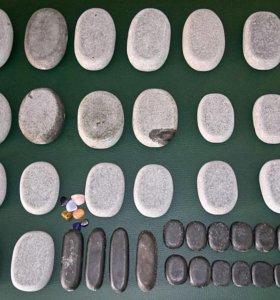 Профессиональный набор базальтовых камней для масс