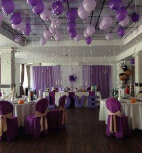 Свадебное оформление зала, под ключ