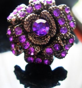 Кольцо цветок 16 размер/ Обмен