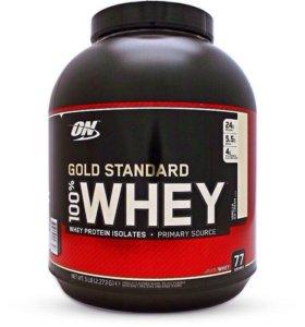 ON Gold Standart 100% Whey 5lb и Casein 4 lb