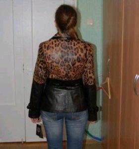 Кожаная куртка, куртка из кожзаменителя