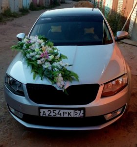 Аренда свадебных украшений авто