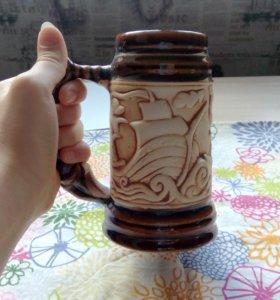 Кружка керамика