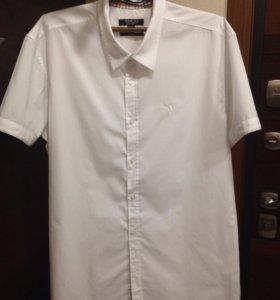 Рубашка белая новая, размер 54