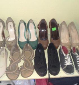 Туфли кеды, балетки 👠👡👟👣