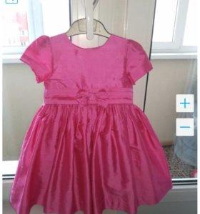 Платье атласное Mothercare