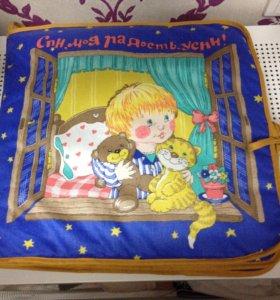 Мягкая книга для малыша
