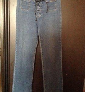 Тонкие джинсы р.46-48