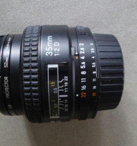 Объектив nikon 35mm f/2