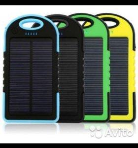 Солнечная батарея Power Bank 5000 ma/ч