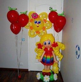 Куколки из шаров