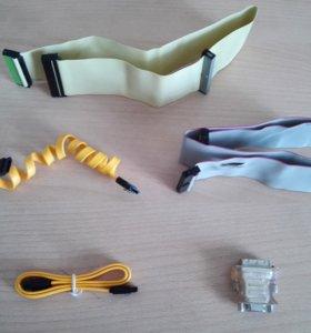 SATA и IDE кабели и прочее