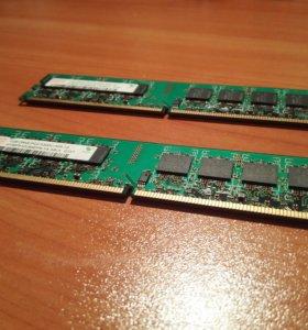 Модуль оперативной памяти Hunix 1 GB