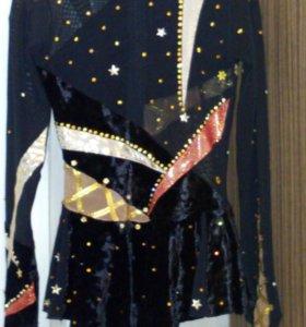 Платье для выступлений 112-134 фигурное катание