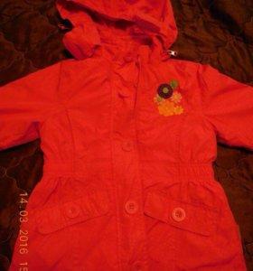 Куртка детская , на рост 116