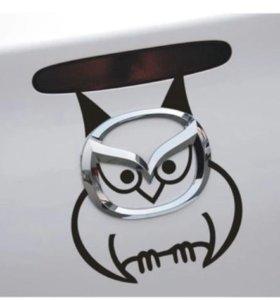 Мазда наклейка на багажник